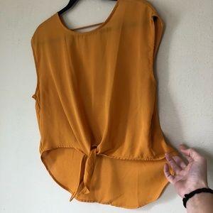 Marigold lightweight LFT blouse